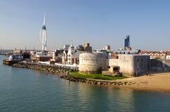 Portsmouth (Inghilterra) Fotografie Stock