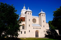Portsmouth, Inglaterra: Iglesia del St. Thomas fotos de archivo libres de regalías
