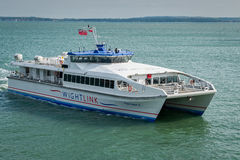 Portsmouth Isle of Wight Ferry Stock Images