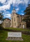 Portsmouth-Kathedrale Stockbild