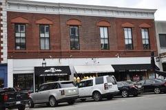 Portsmouth, le 30 juin : Bâtiments historiques de Portsmouth du centre dans New Hampshire des Etats-Unis Photographie stock libre de droits