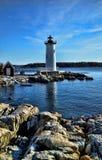 Portsmouth-Leuchtturm Stockbild