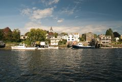 Portsmouth New Hampshire Stock Image