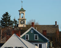 Portsmouth New Hampshire scenic Royalty Free Stock Photography