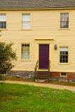 PORTSMOUTH, NH, USA - 30. September 2012: Hough-Haus an Museum Strawbery Banke Lizenzfreies Stockbild