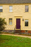 PORTSMOUTH, NH, USA - September 30, 2012: Hough House at Strawbery Banke Museum Royalty Free Stock Image