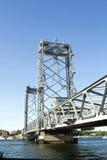 Portsmouth, pont de New Hampshire images libres de droits