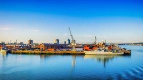 Portsmouth Port-3 arkivbild