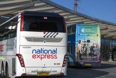 Portsmouth przystanek autobusowy Ciężki Zdjęcie Stock