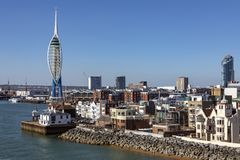 Portsmouth - Reino Unido Fotos de archivo libres de regalías