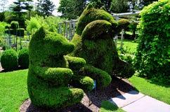 Portsmouth, RI: Green Animals Topiary Gardens Stock Image