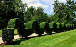Portsmouth, RI: Green Animals Topiary Gardens Royalty Free Stock Photos