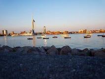 Portsmouth schronienie Zdjęcia Stock