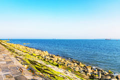 Portsmouth seafront in the summer Stock Image