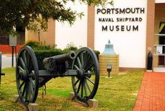 Portsmouth Shipyeard Morski muzeum Fotografia Stock