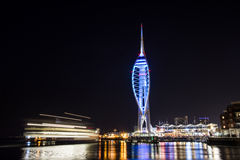 Portsmouth spinnaker tower Royalty Free Stock Images
