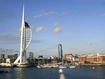 Portsmouth-Ufergegend Lizenzfreie Stockfotos