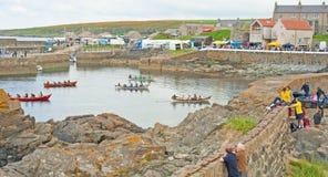 Portsoy小船节日2013年 库存图片