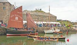 Portsoy小船节日2013年 库存照片