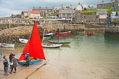 Portsoy Boat Festival 2013 Stock Photography