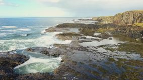 Portstewart Rocks on Coast Atlantic Ocean  Antrim Northern Ireland