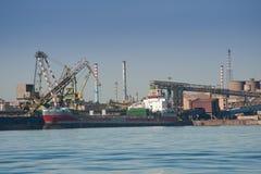 Portstrukturer Royaltyfria Bilder