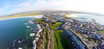 Portstrush Co 安特里姆北爱尔兰 库存照片