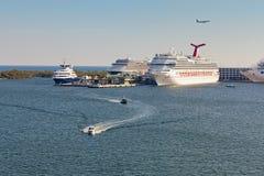 PortSumpfgebiete in Fort Lauderdale, Florida Lizenzfreies Stockbild