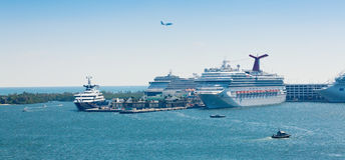 PortSumpfgebiete in Fort Lauderdale, Florida Lizenzfreie Stockfotos