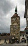 Porttorn, Aarau, Schweiz Royaltyfria Bilder