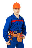 Porttrait real worker Stock Images