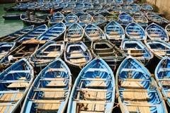 portu łodzią Obraz Royalty Free