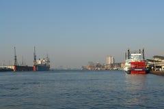 portu hamburg Obrazy Stock