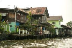 portu połowowego wioski wody Zdjęcie Stock