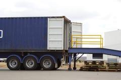 portu załadunku zdjęcia stock