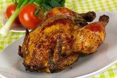 烤的艺术鸡精美可口portug 库存照片