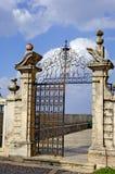Portugal, área de Alentejo, Estremoz: Puerta del hierro Imagenes de archivo
