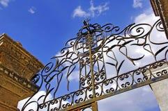 Portugal, área de Alentejo, Estremoz: Puerta del hierro Fotos de archivo libres de regalías