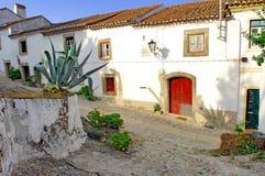 Portugal, área de Alentejo, Marvao: Casa típica Fotos de archivo libres de regalías