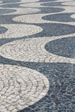Portugal abstract tile pavement patterns as a background Stock Photo