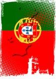portugal affisch Royaltyfri Bild