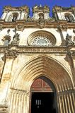 Portugal, Alcobaca: Monastery of Alcoba Stock Photos