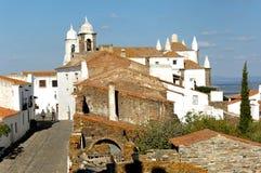 Portugal, Alentejo: Dorf von Monsaraz Stockfotografie