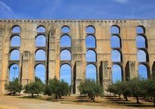 Portugal, Alentejo gebied, Elvas De Plaats van de Erfenis van de Wereld van Unesco stock afbeelding