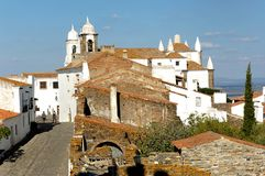 Portugal, Alentejo: village of Monsaraz Stock Photography