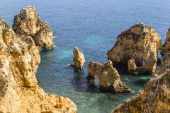 Portugal algarve Zdjęcie Stock