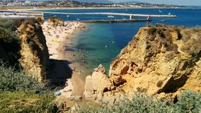 Portugal Algarve Stockfoto