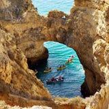 Portugal Algarve Coast Lagos Royalty Free Stock Photo