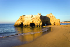 Portugal algarve coastline Stock Photography
