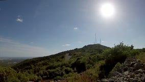 Portugal, Algarve famous destination region rural hillside landscape stock footage